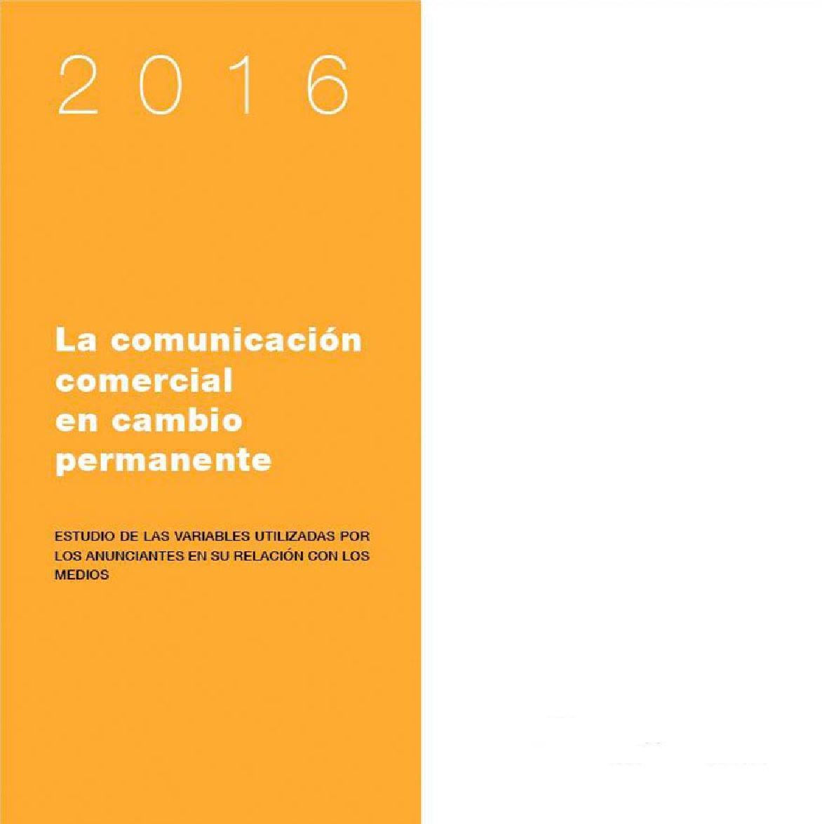 Observatorio 2016 - Monográfico sobre los medios